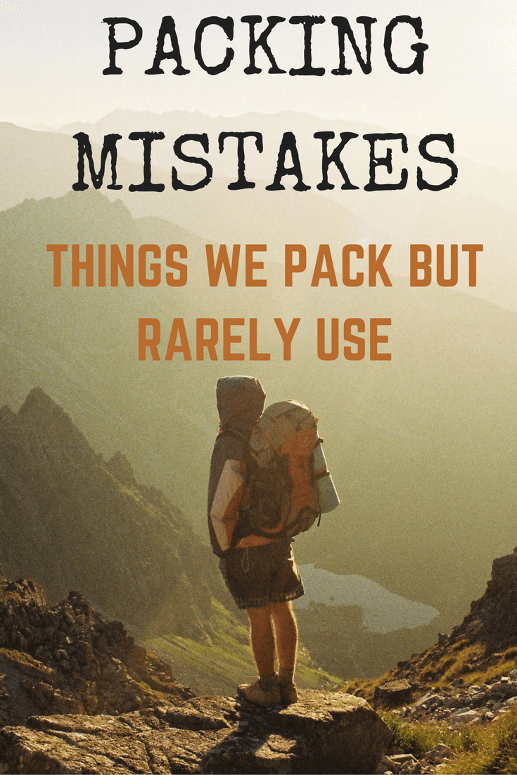 Packing-Mistakes-things-packed-but-rarely-used