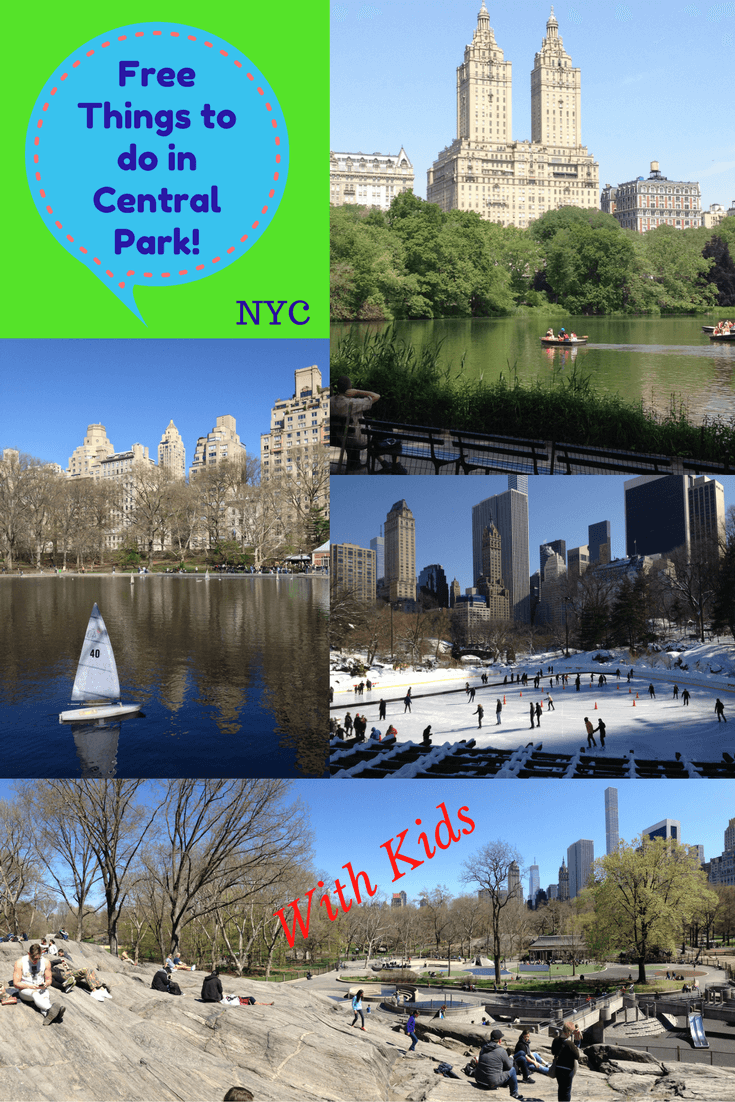 Fun things for kids to do in central park new york rtw for What fun things to do in new york