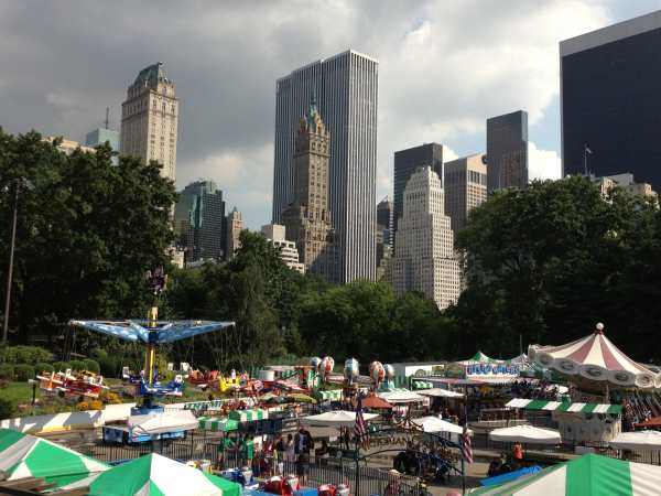 Wollman Rink-turned-Summer side show
