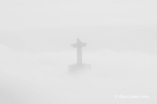 fog christ the redeemer rio
