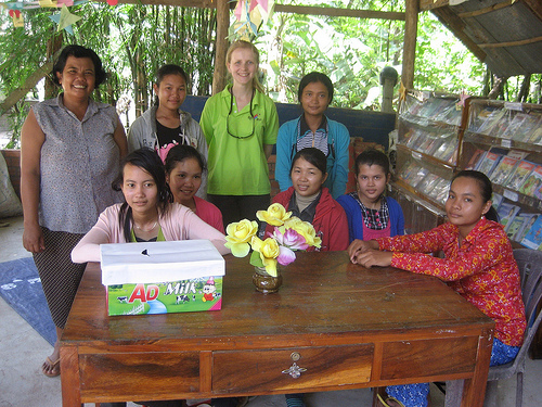 volunteer placement Cambodia