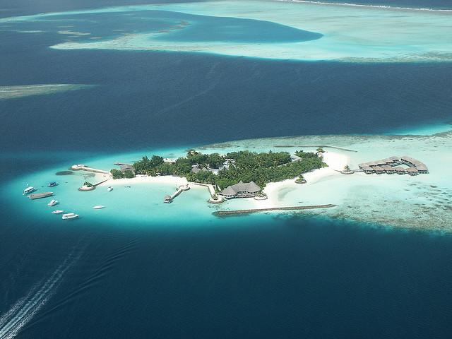 A Maldive island